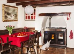 klover smart-120 pellet cooker boiler