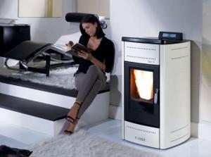klover pellet boiler stove