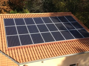 integrated solar pv installation roof integrated system